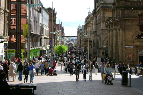 Residents in the poorest areas of Glasgow could be disadvantaged by their own DNA (Picture by Kilnburn)