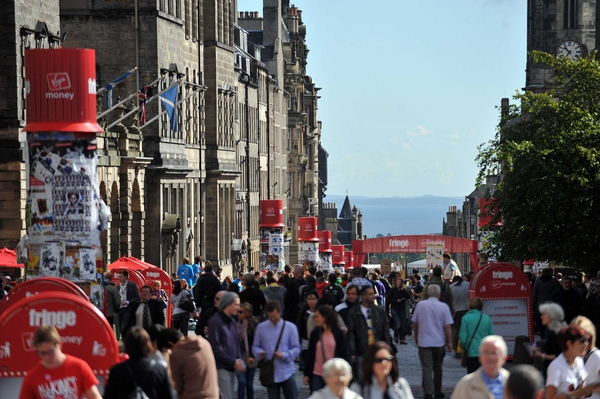 The festival attracts hundreds of thousands of people each year