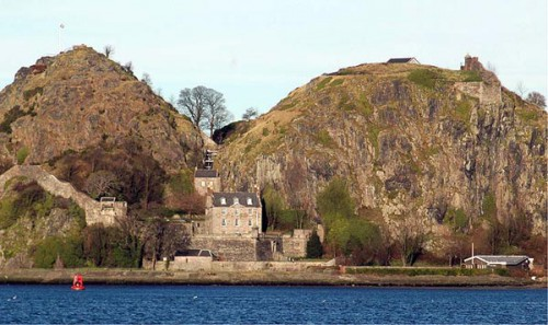 Dumbarton castle will host the event