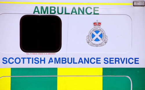 Paramedics fought to resuscitate the infant but he was later pronounced dead at hospital.