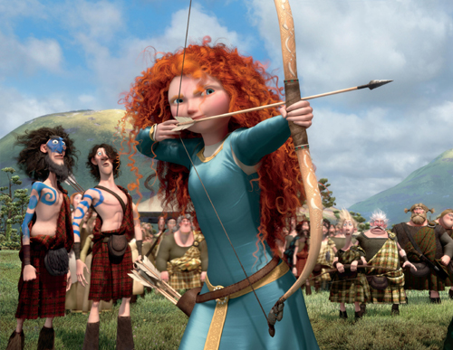 Brave's Merida has been given  makeover following her induction into the Disney Princess Collection.