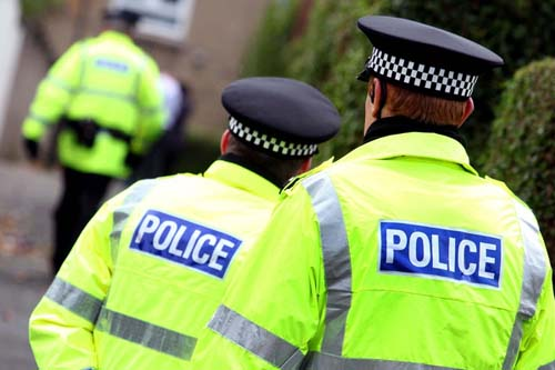 Police raid houses in Moray town of Lossiemouth