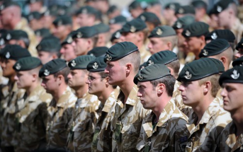 There has been a wave of con men pretending to have a military career