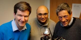 Ifor Samuel, Kishan Dholakia and Thomas Krauss