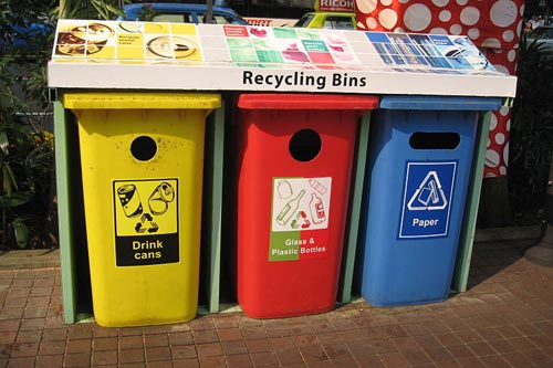 Extra bins were brought in to cope with the litter
