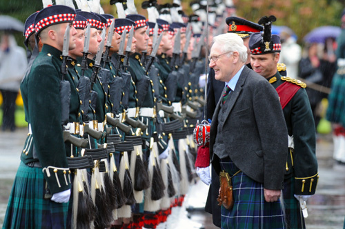 More than 2000 servicemen and women are estimated to leave every year in Scotland.