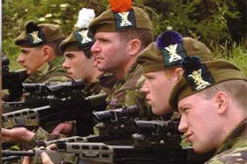 Historic Scots regiment names face axe in army reshuffle