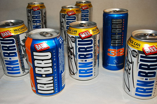 Irn-Bru has boosted the wealth of the Barr family