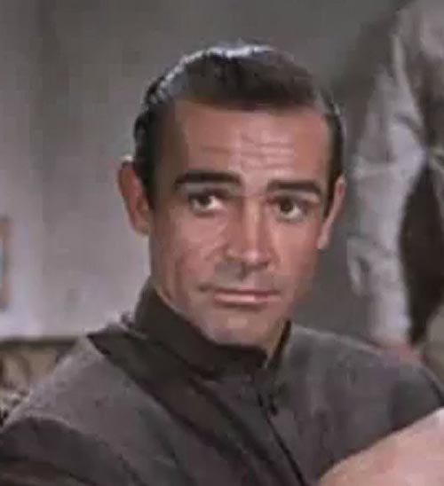 Connery played Bond in the iconic 1964 film