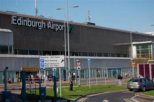 Edinburgh airport drop off charges