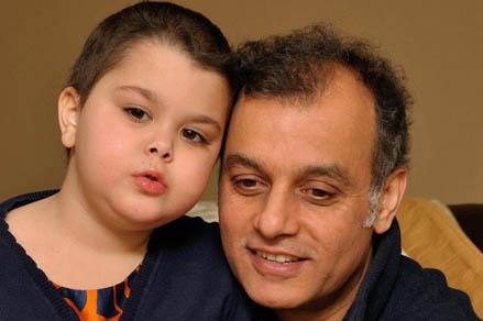 Ayesha,7, was diagnosed with a rare form of leukaemia