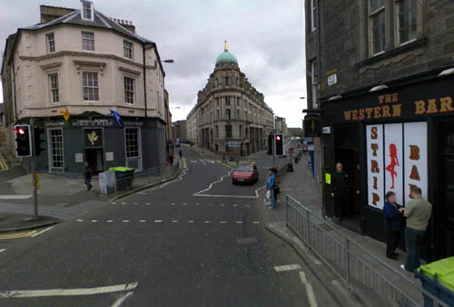 "Edinburgh's ""pubic triangle"" is a must-do for many stag weekends but Sandra White MSP says the industry exploits and demeans women. Pic: Google Street View"