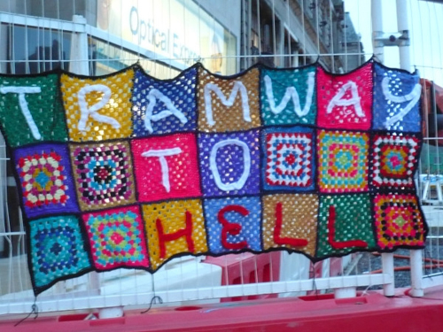 Yarn Bombing your estimation ability