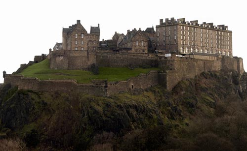 Edinburgh Castle is visited by thousands of tourists each year