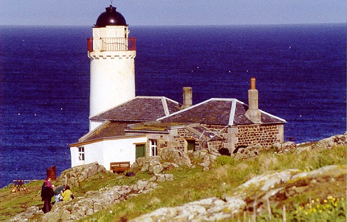 The incident happened on the way to the Isle of May's lighthouse
