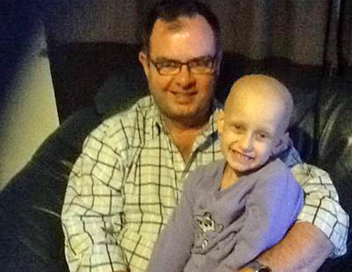 Alistair has set up the In Jimmy's Footsteps appeal which will raise money for Cancer Research UK