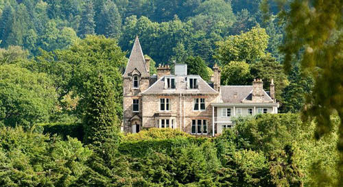 "The Knockendarroch House Hotel was described as a ""honeymooners' delight"""