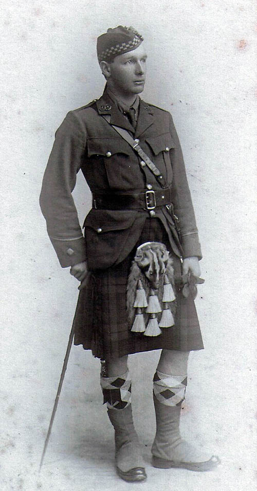 "William Ewart Gladstone-Millar trained in the ""Dreghorn sludge"" before winning the Military Cross laster in the Great War."