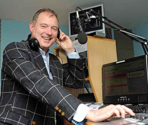 Presenter John Leslie is among those locked out