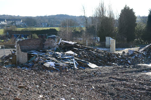 Ross paid £150,000 and has a £600-a-month mortgage on this pile of rubble