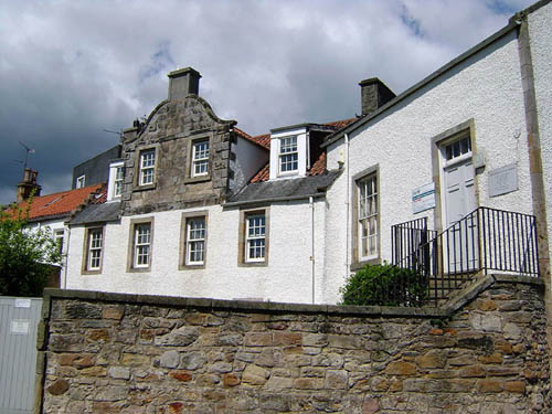 His home in Dysart was closed as a museum three years ago