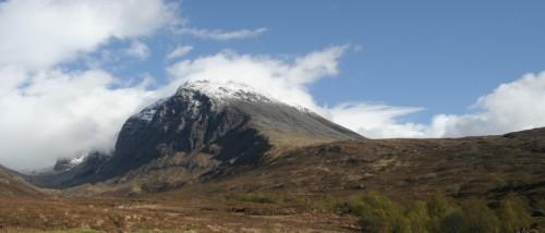 Ben Nevis is the highest peak in the UK