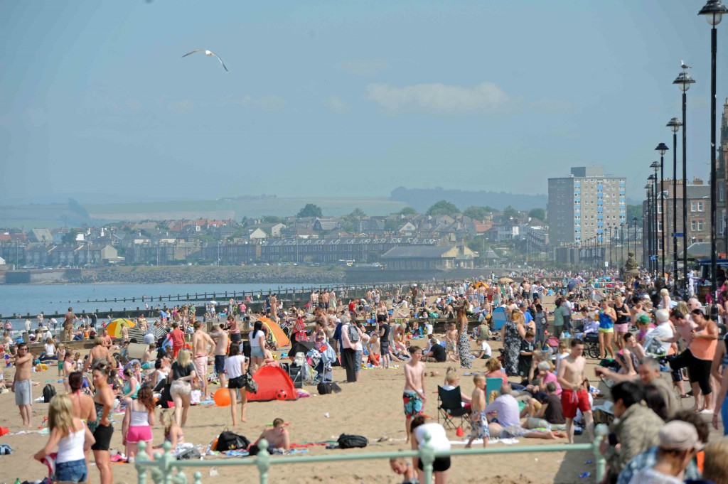 There are roughly 1,200 new cases of malignant melanoma in Scotland each year