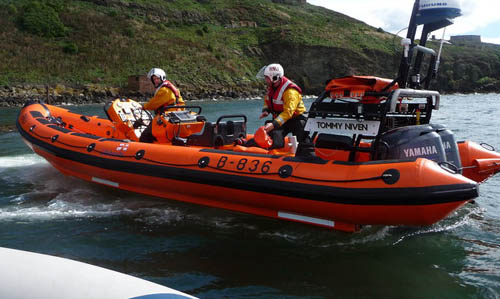 Lifeboat and its crew attacked by amateur golfers