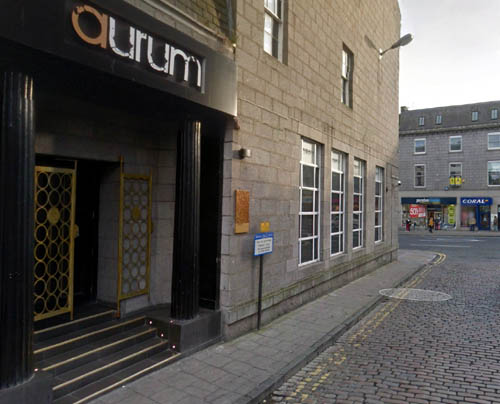 The teacher was enjoying a night out at this Aberdeen club when she racially abused a doorman (Pic: Google)