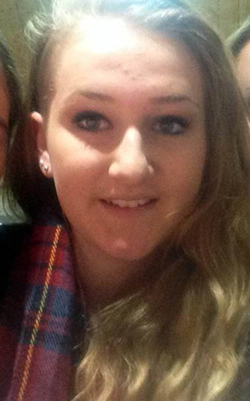 "Jenna, 18, was described by a neighbour as a ""lovely girl"" who enjoyed horse riding"