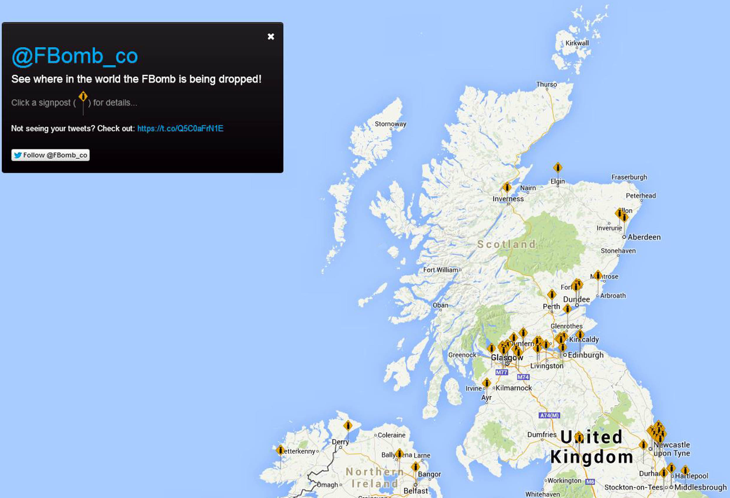 F-bomb' website pinpoints Scotland's foul-mouthed Tweets - Deadline News