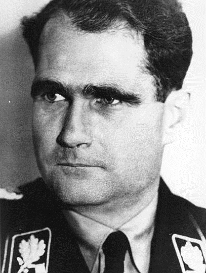 Senior Nazi Rudolf Hess in 1933. Pic: Bundesarchiv