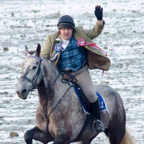 Callum Buchan is the current honest lad of Musselburgh