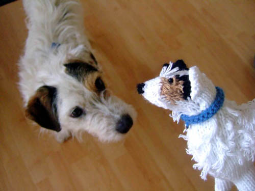 The doggy replicas have proved to be a hit across the world