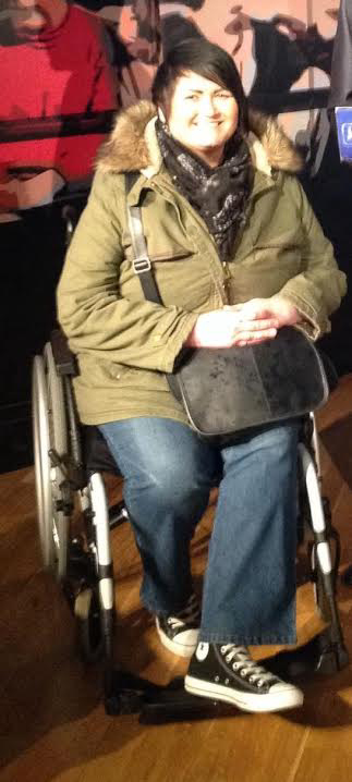 Jane-Louise hopes to get an electric wheelchair