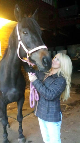 Jane, who founded the charity, is desperately trying to raise funds for the horse