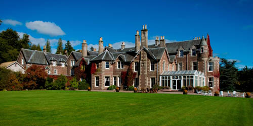 Andy Murray's hotel