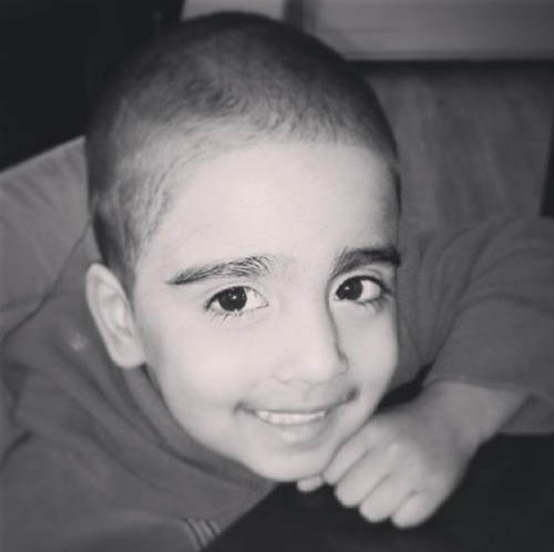 Mikaeel was found in a suitcase in January 2014