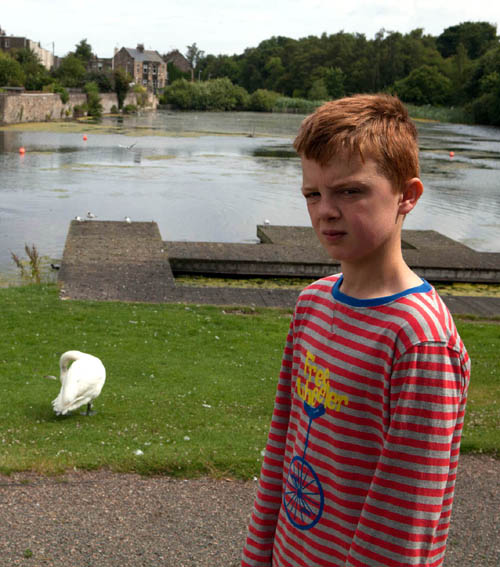 Euan Laing, 13, is fed up his fun on the water has been cancelled - but understands why.