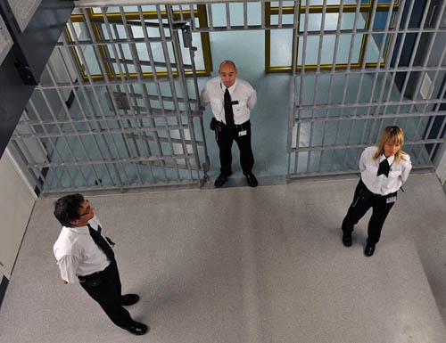 Inmates seem to have little appetite for light relief when it comes to their DVD viewing