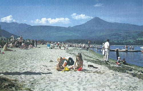 1. Brodick beach in 1960s