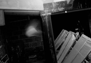 The misty apparition in Drum Castle was caught by a motion sensitive web-cam in the stables.