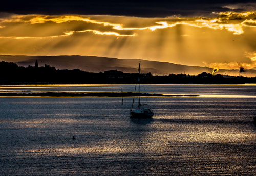 River Forth Sunset