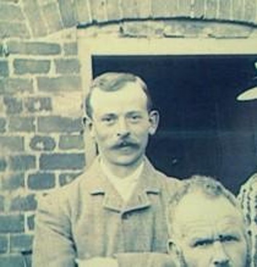Private Walter Newman signed up to fight in 1914 and was just 33 when he was killed by a sniper