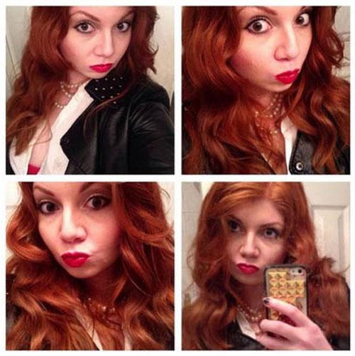 karen-gillen-selfies