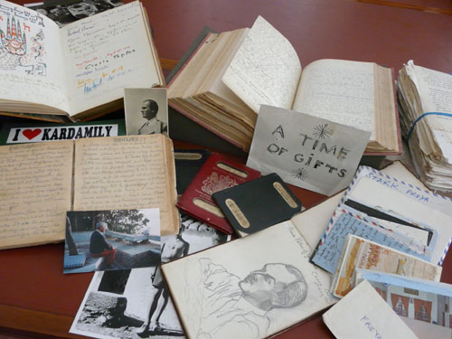 Items from the Leigh Fermor archive