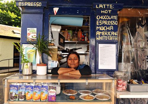 Coppadom: Curry house in police box has managed to korma the market.