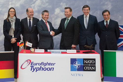 Selex Eurofighter contract