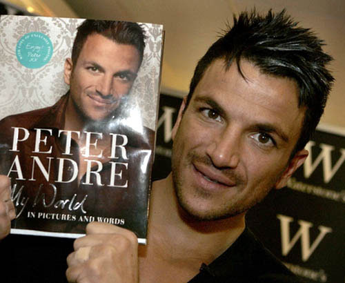 Peter Andre was booked by Perth and Kinross Council