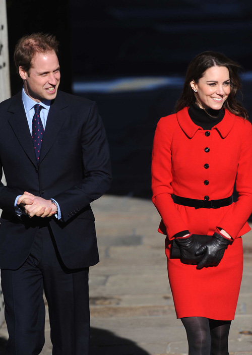 HRH Prince William and Kate Middleton